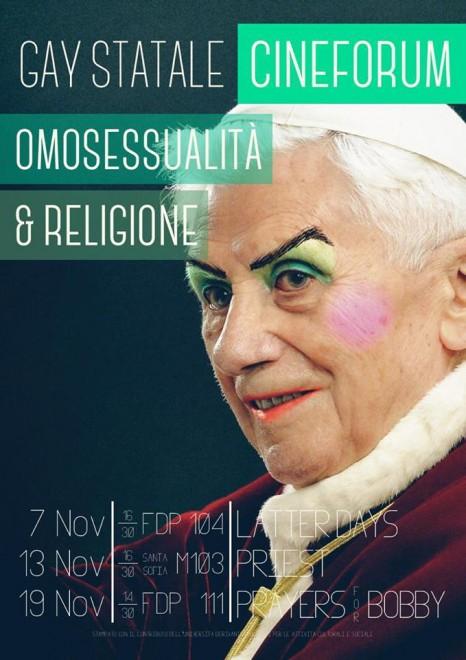 Milano: Papa drag queen in cartellone non si ferma il cineforum gay
