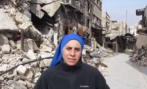 Aleppo: drammatico appello di Suor Guadalupe de Rodrigo!