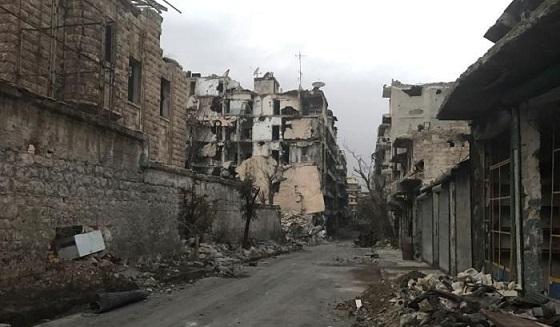 Aleppo si rialza!