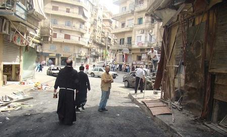 «I cristiani iniziano a tornare ad Aleppo. Ma manca l'elettricità»!