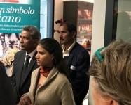 La figlia di Asia Bibi: ho portato al Papa il bacio di mamma!