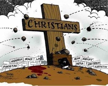 Trecento milioni di cristiani soffrono persecuzioni in 38 paesi!
