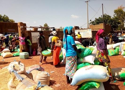 Burkina Faso: 560 famiglie soccorse!
