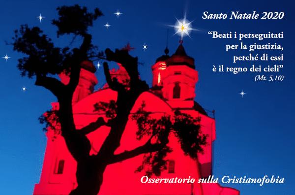 Un Santo e Sereno Natale dall'Osservatorio sulla Cristianofobia!